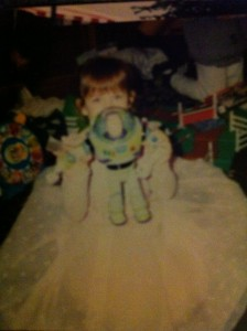 Buzz Lightyear and Princess Megan