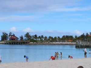 Family Beach on Castaway Cay