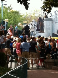 Walt Disney World Crowds During Star Wars Weekend