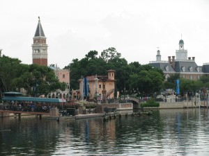 World Showcase Lagoon View