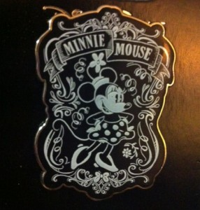Minnie Mouse Chalkboard Pin
