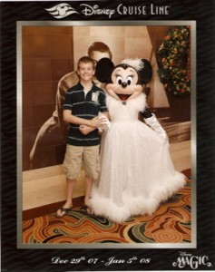 Formal Minnie on Disney Cruise Line