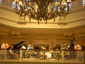 Would the Grand Floridian Society Orchestra disappear with a renovation?