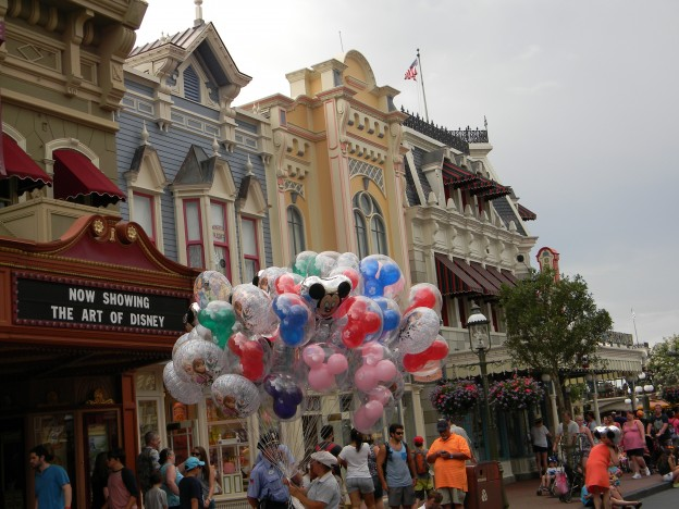 Balloon Vendor on Main Street U.S.A.