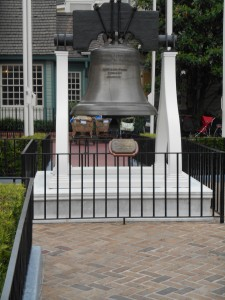 The Liberty Bell in Walt Disney World's Liberty Square