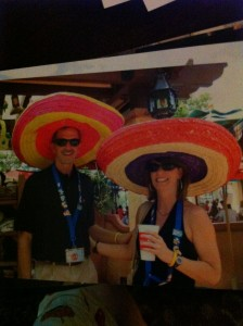 Hats in Epcot's Mexico Pavilion