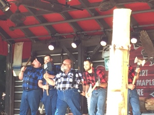 Canadian Lumberjack Show in Epcot