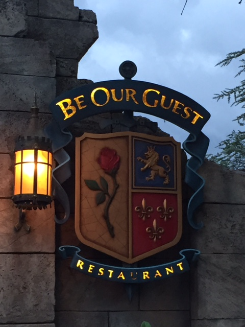 Disney Dining - Be Our Guest Restaurtant Review - Living a ...