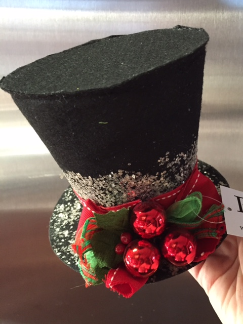 rm christmas top hat - Disney Christmas Tree Topper