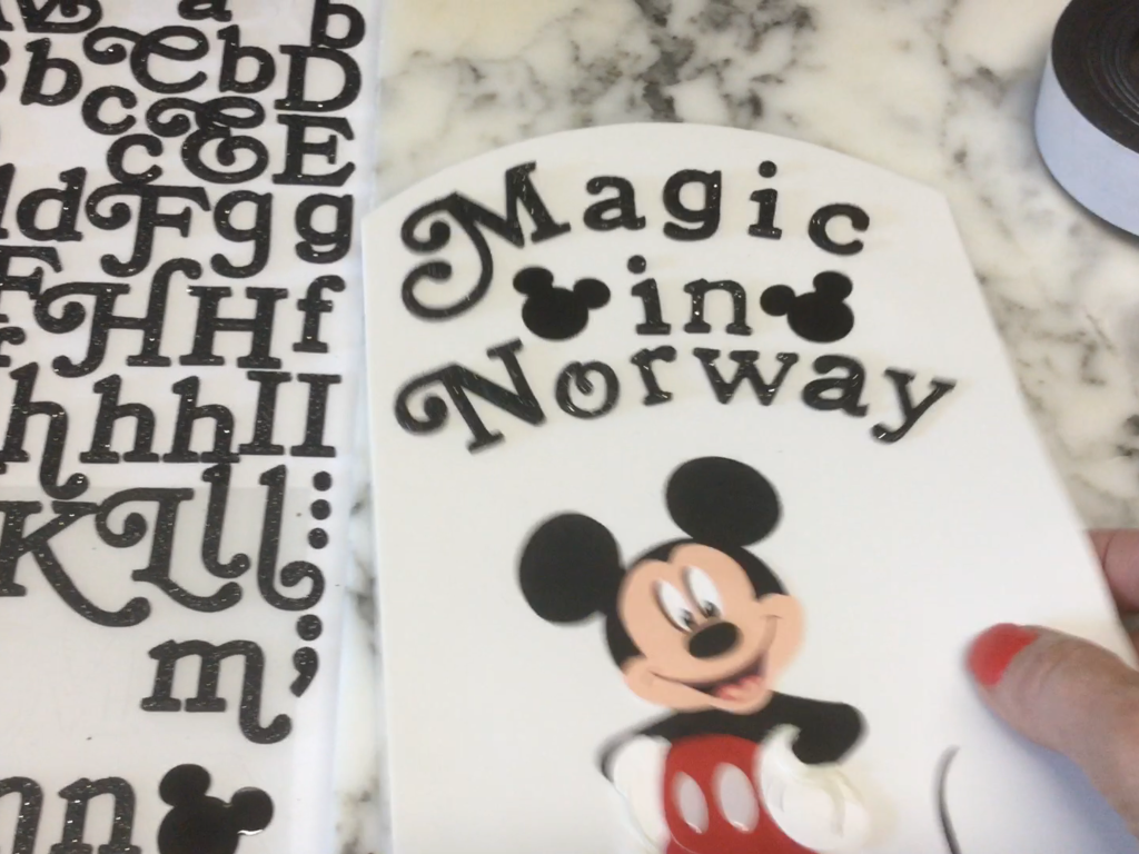 Magic in Norway Magnet