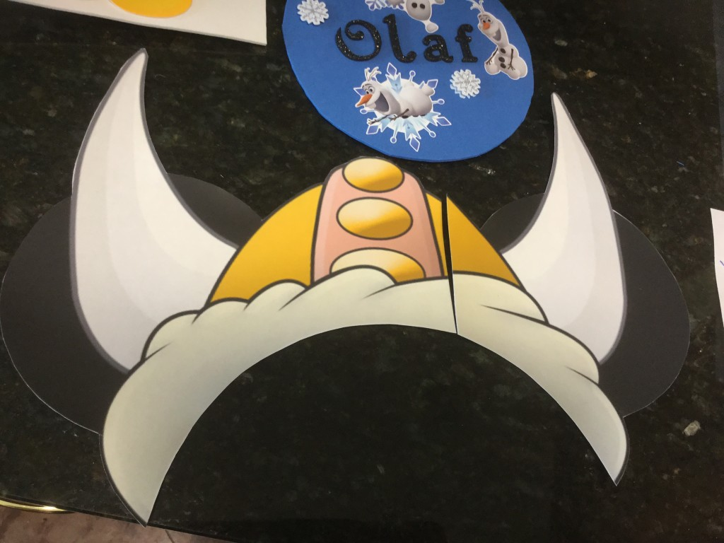 Viking Hat Door Magnet
