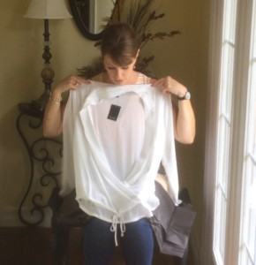 Wantable-Unboxing-White-Wrap-Blouse
