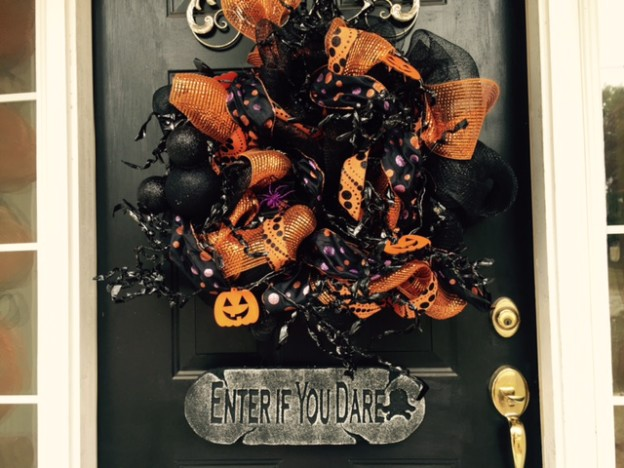 Halloween party disney style living a disney life for Disney halloween home decorations