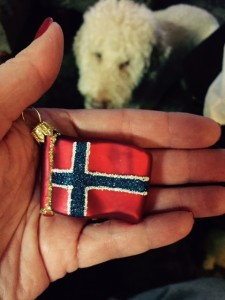 Christmas-Ornament-Norwegian-Flag