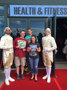 Footmen with Nick, Dave, and Lisa