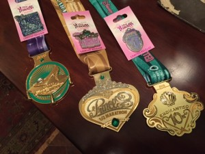 Glass Slipper Challenge Medals 2016