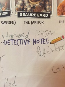 Midship Detective Agency Crime Notes