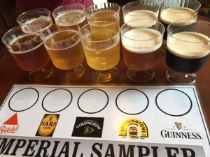 Rose&Crown-Beer-Flight