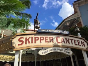 Skipper Canteen Sign