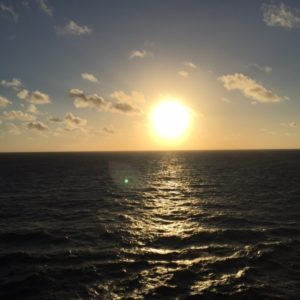 Disney Cruise Sunrise