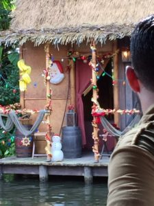 Jingle Cruise Hut Decorations