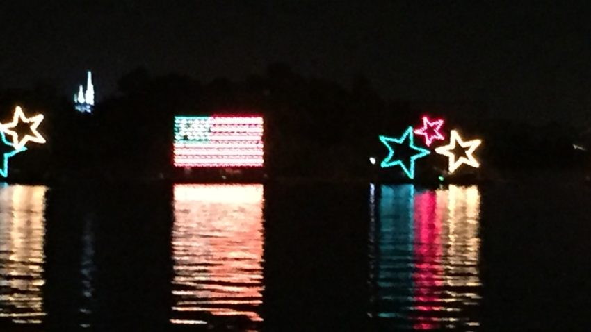 Disney World Electrical Water Pageant