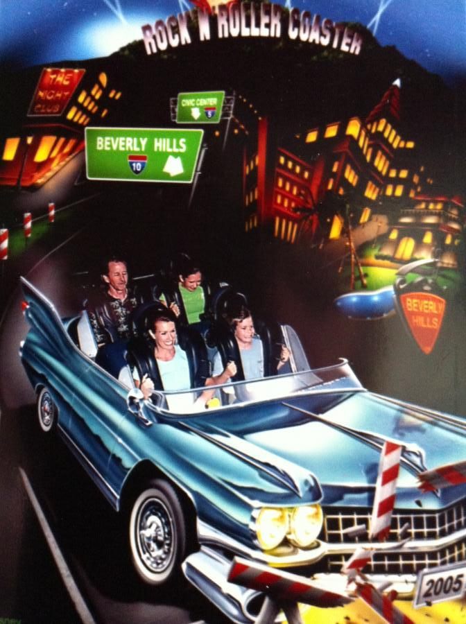 Rock'n' Roller Coaster Archives - Living a Disney ...